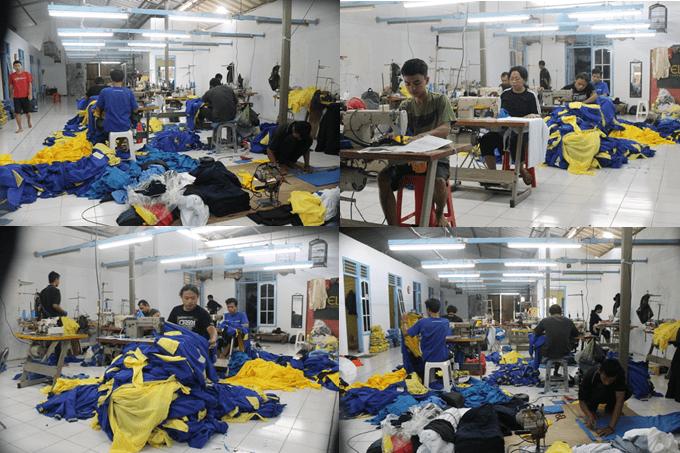 tempat produksi jaket