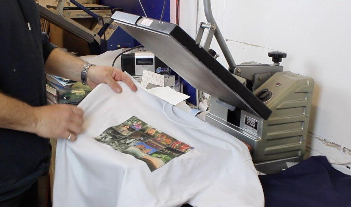 jenis jenis T-Shirt Printing