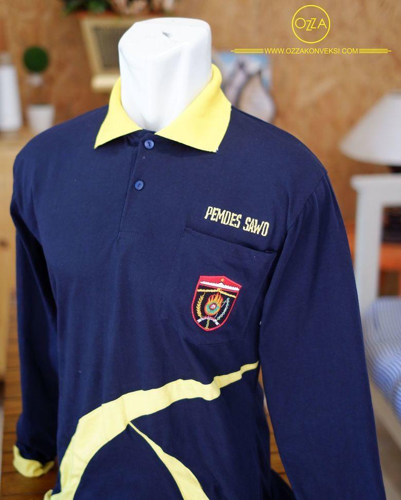 Bikin Kaos Polo Lengan Panjang