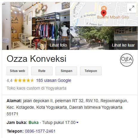 Review Positif Ozza Konveksi