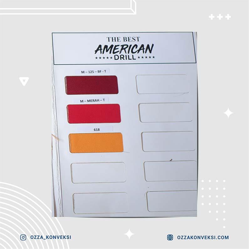 Warna Kain American Drill 03