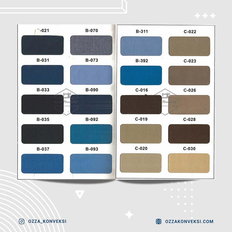 warna bahan kain - nagata drill 02