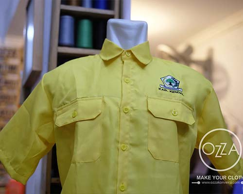 Desain baju pdh organisasi