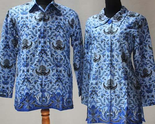 Desain baju PDH Keren - Pakaian Dinas Batik Korpri