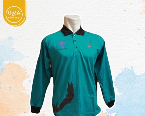 Tshirt Polo Pramuka Lengan Panjang