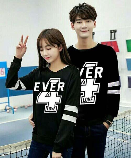 Kaos Distro Couple Korea