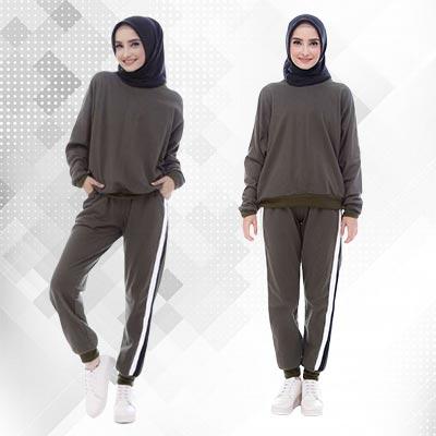 Baju Olahraga Wanita Muslimah - Caluella