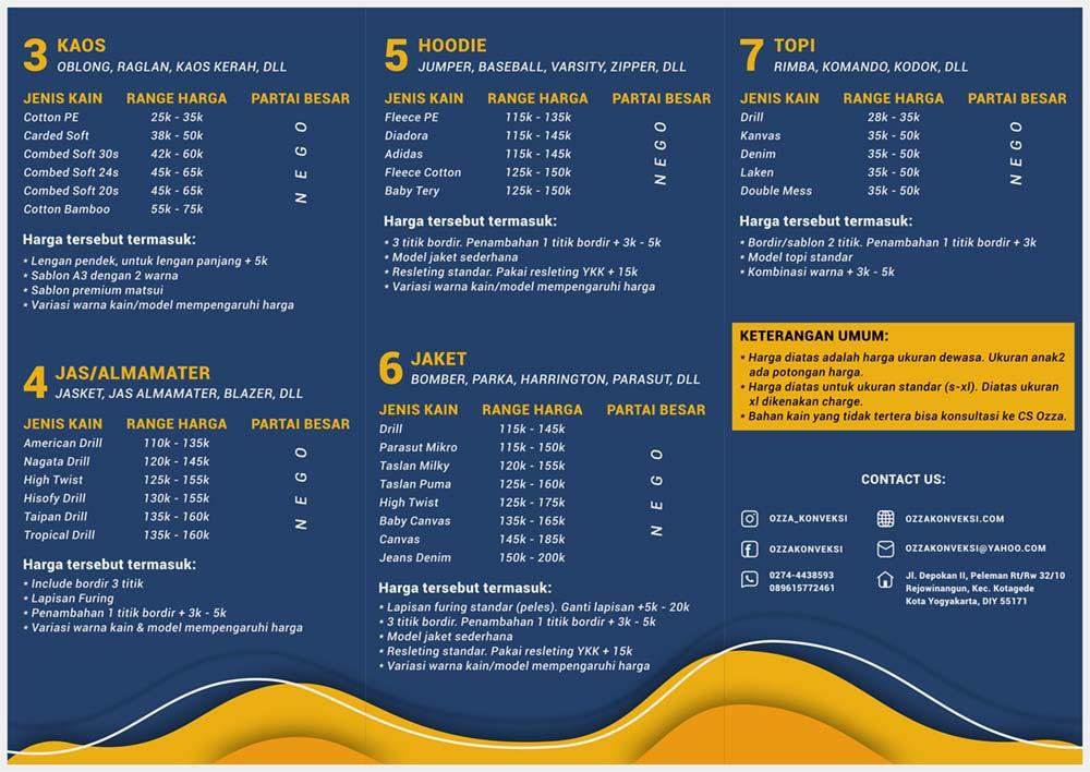 Daftar_Harga_2 - Konveksi Kalimantan (Ozza Konveksi)