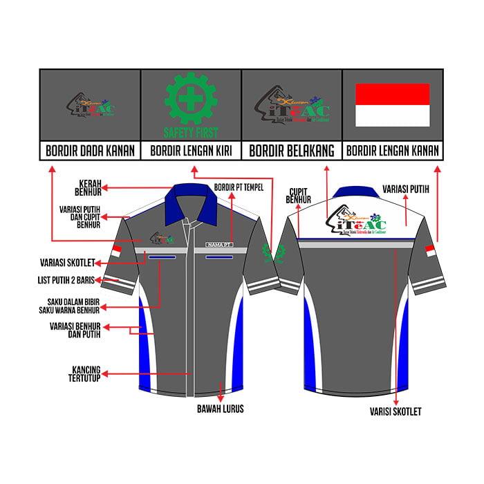 Desain Baju Keme ITEAC