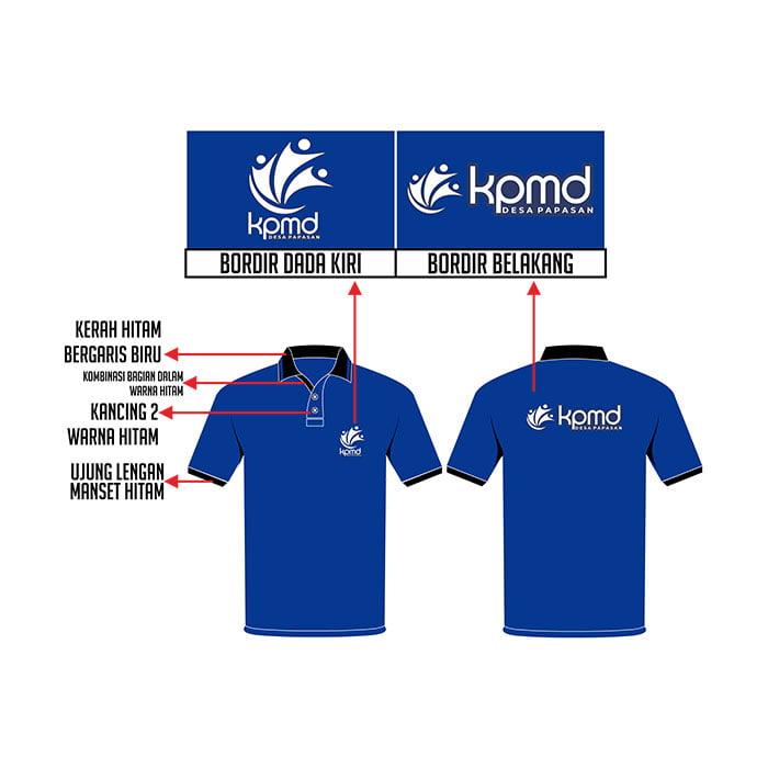 Desain Kaos Polo KPMD