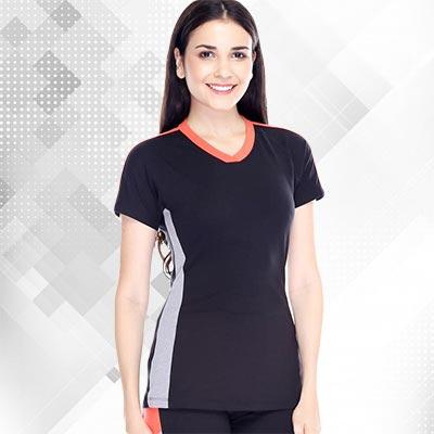 Pakaian Olahraga Wanita Baju Senam Lee-Vierra