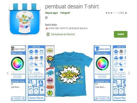 T-Shirt Design Maker Android App