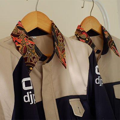 kemeja korsa kombinasi batik