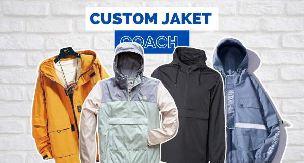 Custom Jaket Coach