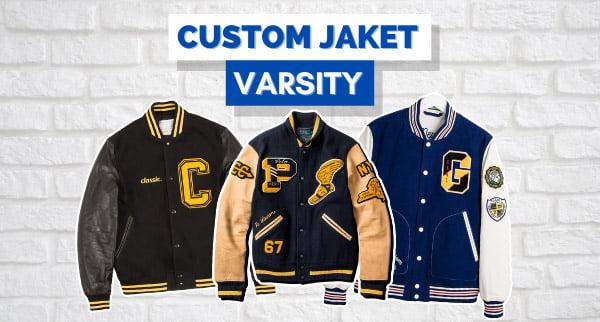 Custom Jaket Varsity