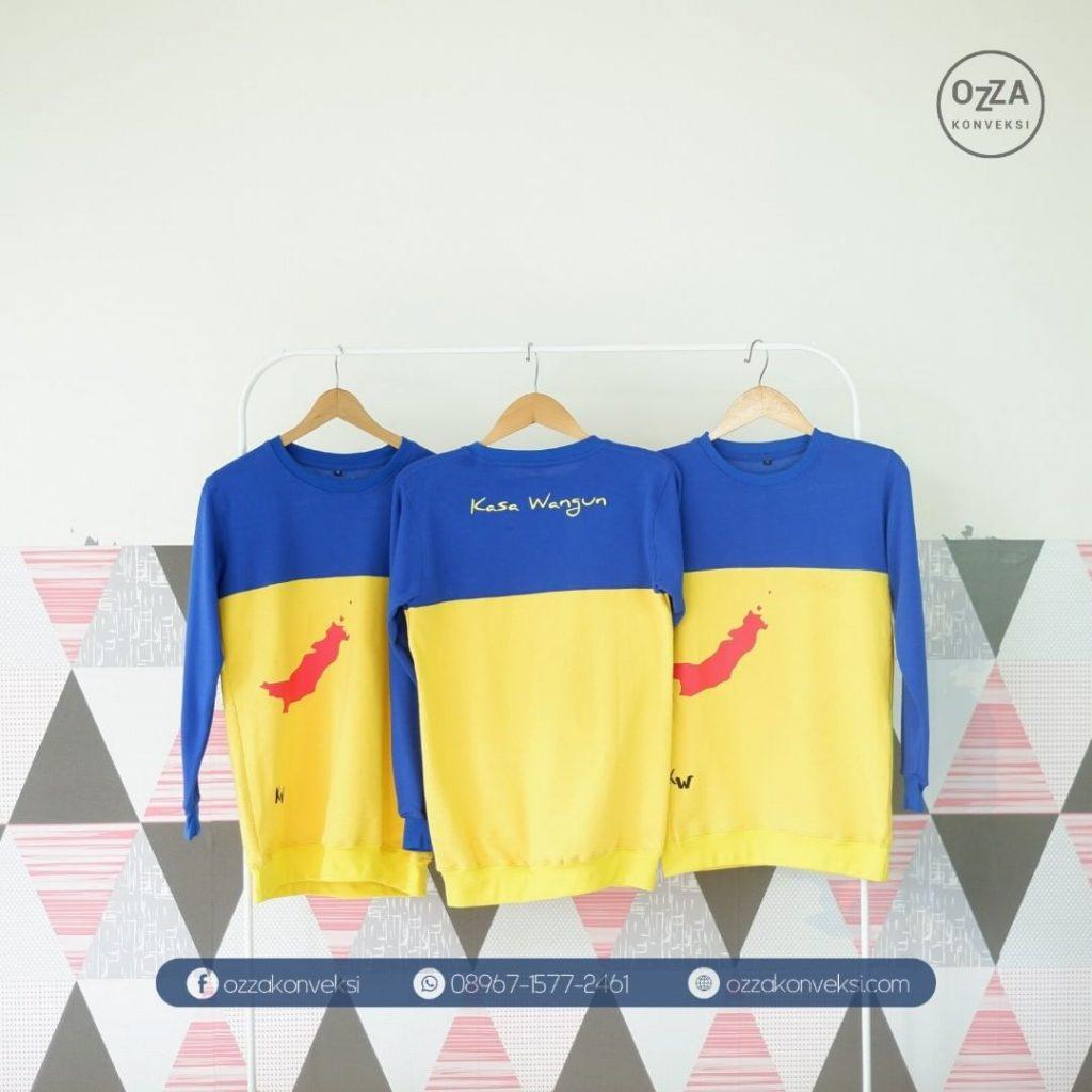 Kaos Lengan Panjang kombinasi warna