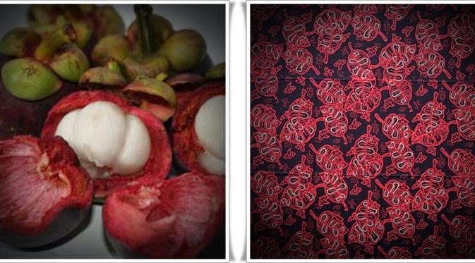 Pewarna Tekstil alami menggunakan kulit manggis