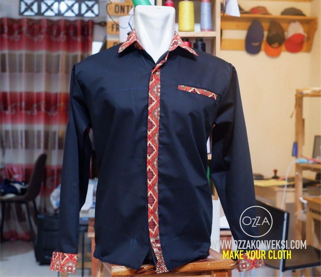 Seragam PDH Batik Kombinasi